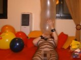 Amateurvideo Hausparty mit Luftballons 2 von TittenCindy