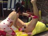 Amateurvideo Carmen Rivera & Lady Vampira are celebrating a pool party wi von LadyVampira
