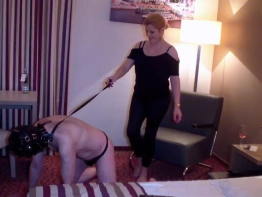 Sklaven Bestrafung in Hamburg Teil 1