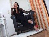 Amateurvideo Hier ist dein Platz, willenloser Sklave! von Andrea_18