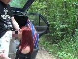 Amateurvideo einen sommerfick aus dem auto von eroticnude