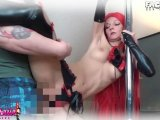 Amateurvideo Perverse Fickshow mit Redhead in Wetlook! von Nasse_Laila