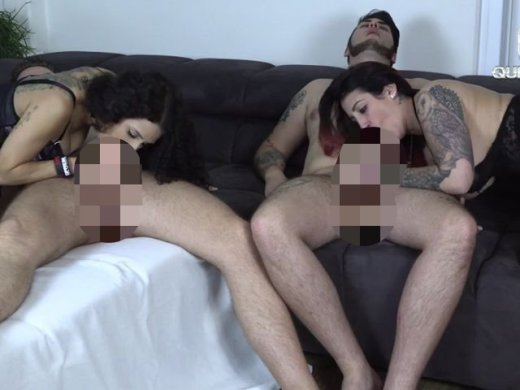 Amateurvideo Die Ultimative Leck-Blow-Squirt Abspritz Challenge! Extrem A from QueenParis