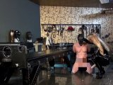 Amateurvideo Anal- und Strap-On Session im Studio von Calea_Toxic