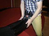 Amateurvideo Der Reitstiefel Spritzer von SusiNRW