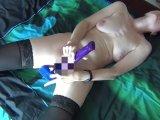 Amateurvideo Dildofick in Nylons von HotMilfNRW