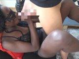 Amateurvideo Schwarzes Aupair-Mädchen wird v Stiefpapi schön durchgefic von DonJohnXXX