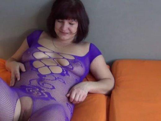 Geiles Netz Nylon Outfit