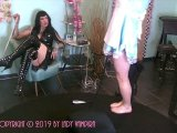 Amateurvideo The Fat Sissyslut Part 1 - Chastity Humiliation from LadyVampira