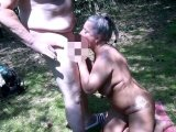 Amateurvideo Public BlowJob, Sperma und Pisse-Schluck-Event, am Silbersee from RosellaExtrem
