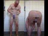 Amateurvideo Morgens Allein in der Dusche von nylonjunge